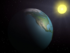 Trapped Sun Rays (Global Warming) animation for Suzuki Foundation