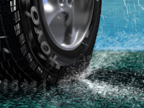 New Toyo Tire 3-D Visualization. Note: the excessive snow particles.